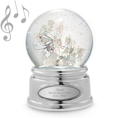 Personalized Butterfly Globe
