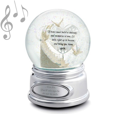 Personalized Memorial Stairway Snow Globe by Things Remembered