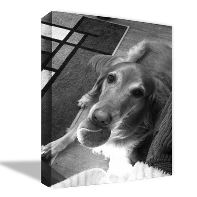 Personalized Black and White Canvas