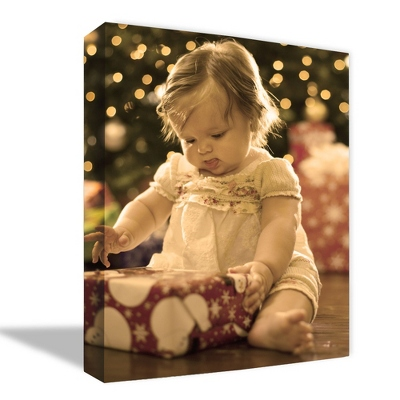 "16"" x 24"" Photo to Canvas Art: Sepia - Wedding Photo to Canvas Art"