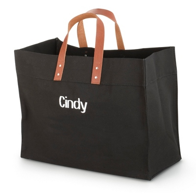 Black Canvas Utility Tote - UPC 825008320475