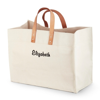 Natural Canvas Utility Tote - UPC 825008320482