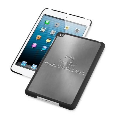 iPad Mini Case Gunmetal - $20.00