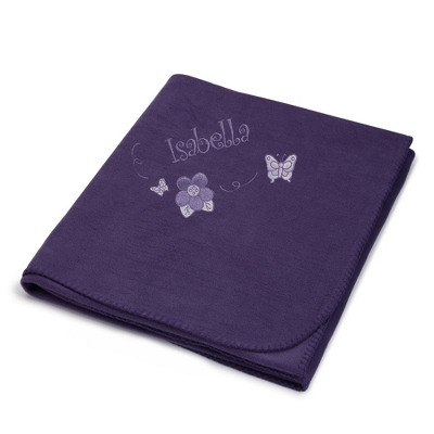 Purple Fleece Blankets