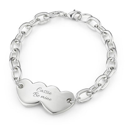 Forever Love Bracelet with complimentary Filigree Keepsake Box - $40.00