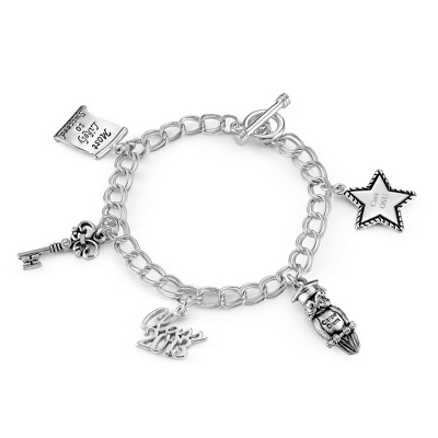 Personalized Graduation Bracelet Charms - 24 products