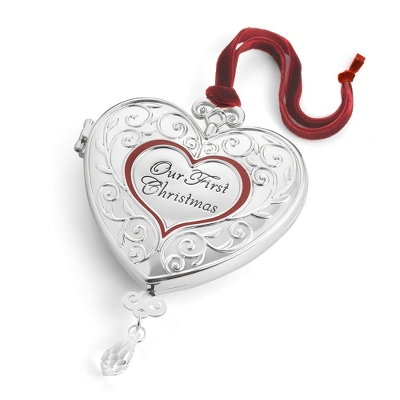 "2013 ""Our First Christmas"" 3D Ornament - $24.99"