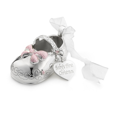 2013 Girl Bootie 3D Ornament