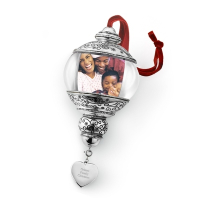 Personalized Frame Christmas Ornaments