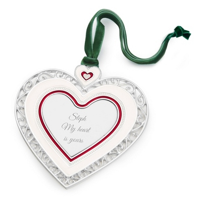 2013 Heart 2D Ornament