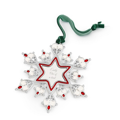 2013 Snowflake 2D Ornament