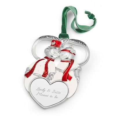 1st Couple 2D Ornament
