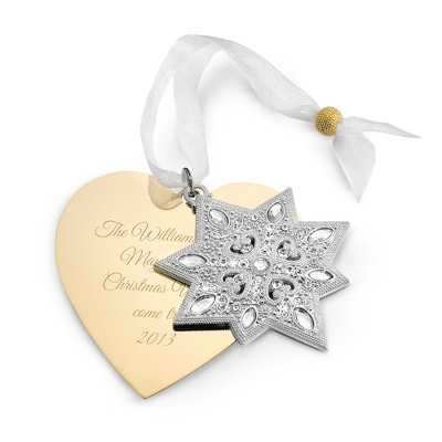2013 Make-A-Wish North Star Ornament - All Personalized Ornaments