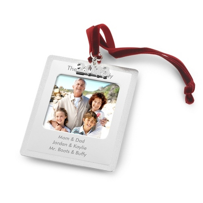 2013 Photo Frame Ornament