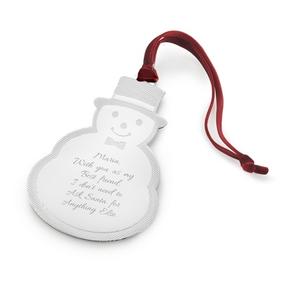 2013 Snowman Ornament - Clearance Items for Christmas