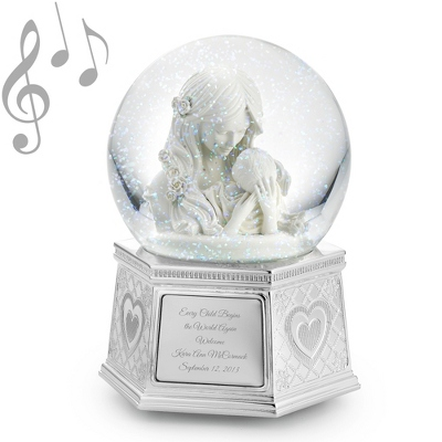 Mother's Embrace Musical Snow Globe