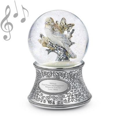 Make-A-Wish Bird of Flight Musical Water Globe - UPC 825008326385