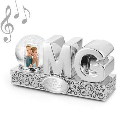 O.M.G. (Oh My God) Photo Musical Water Globe - $14.99