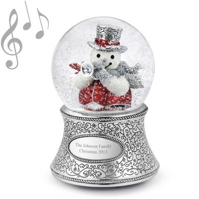 Christmas Musical Snow Globes