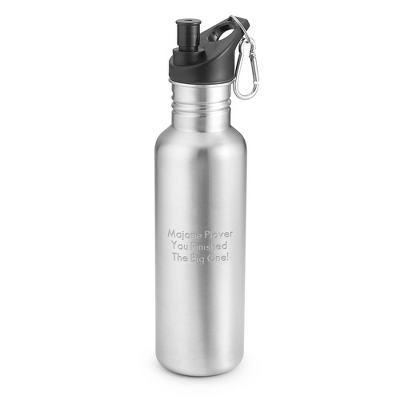 Stainless Steel Water Bottle - $12.99