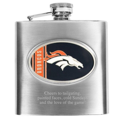 Denver Broncos Flask - Flasks