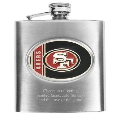 San Franciso 49ers Flask - Flasks