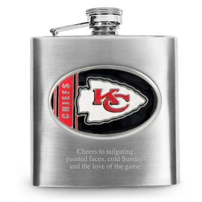 Kansas City Chiefs Flask