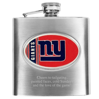 New York Giants Flask