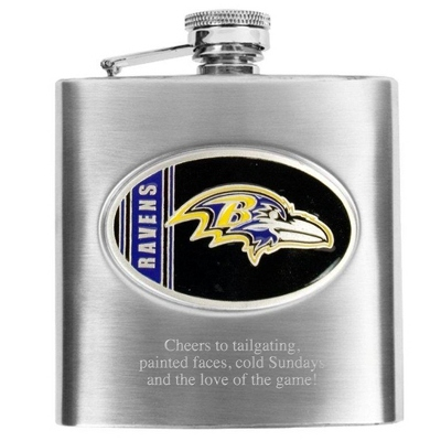 Baltimore Ravens Flask