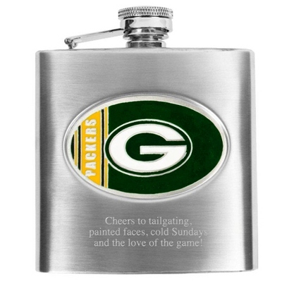 Green Bay Packers Flask