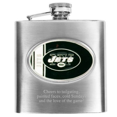 New York Jets Flask