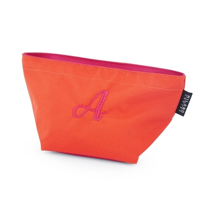 Orange and Berry Large Cosmetic Case - $9.99