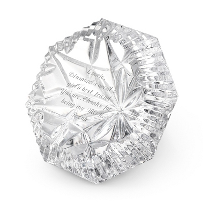 Waterford Lismore Diamond Paperweight - $85.00