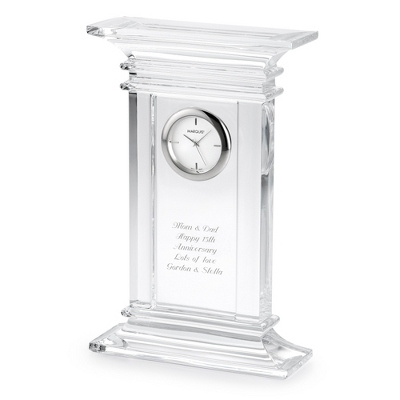 Marquis by Waterford Crystal Treviso Clock - UPC 825008327603