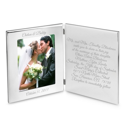 Pewter 5x7 Tablet Frame - UPC 825008327696