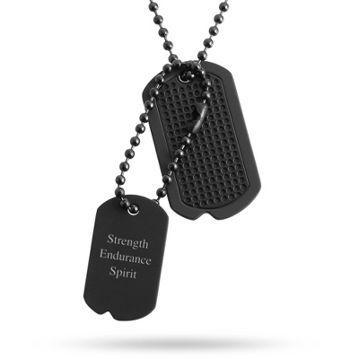 Custom Engraved Dog Tags for Men - 10 products