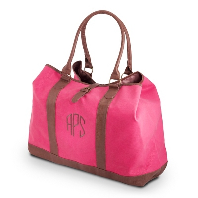 Mighty Pink Tote - Embroidered Totes & Accessories