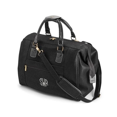 Black Travel City Bag