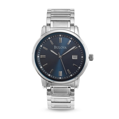 Men's Bulova Highbridge Blue Dial Watch 96B160 - $245.00