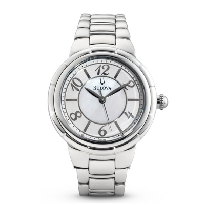 Ladies Bulova Rosedale Watch 96L169 with complimentary Filigree Keepsake Box - 1st Anniversary Gifts
