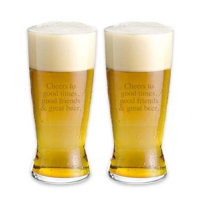 Groomsmen Personalized Beer Glasses - 18 products