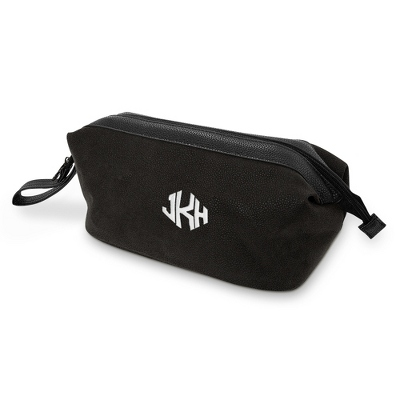 Men's Black Dopp Kit