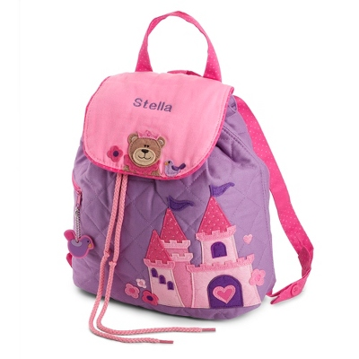 Princess Quilted Backpack - Kid's Backpacks & Travel Bags