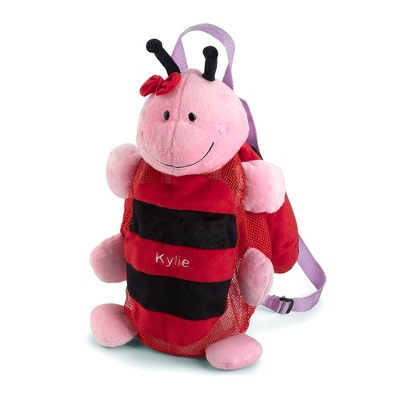 Personalized Ladybug Silly Sac Bag