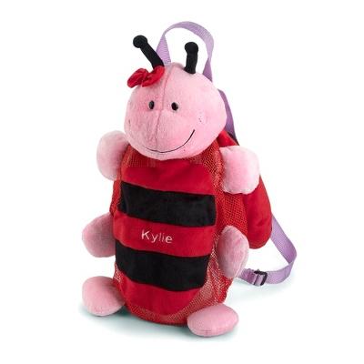Personalized Ladybug Silly Sac Bag