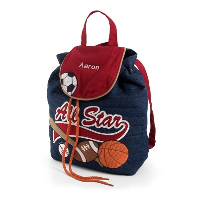 All Star Signature Quilted Backpack