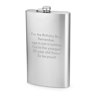 64oz Giant Stainless Steel Flask