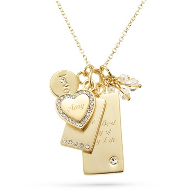 Personalized Gold Necklaces Women