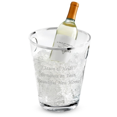 Personalized Wine Pitcher