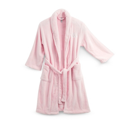 Small/Medium Pink Plush Robe - UPC 825008331877
